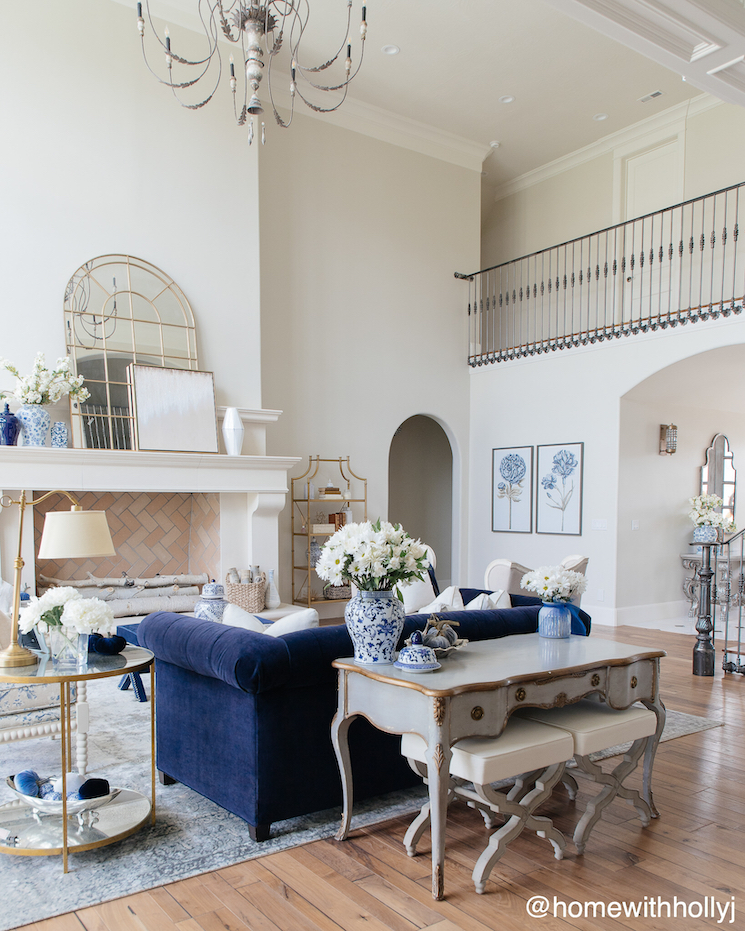 large french country living room