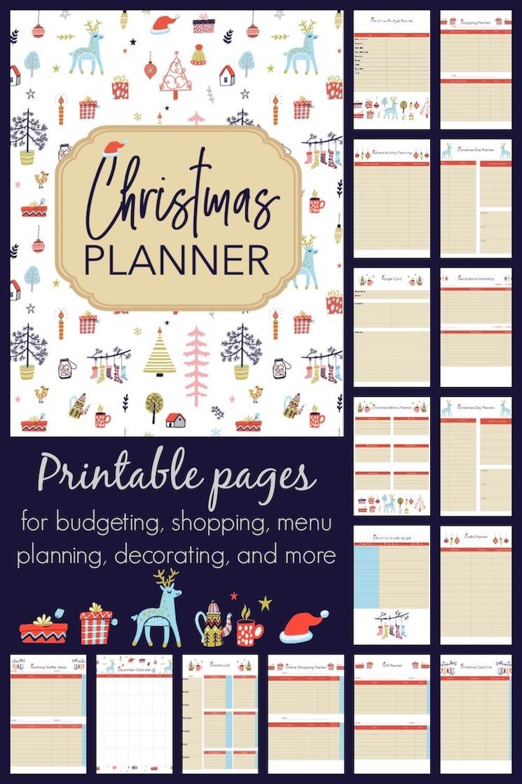 shabbyfufu.com christmas planner