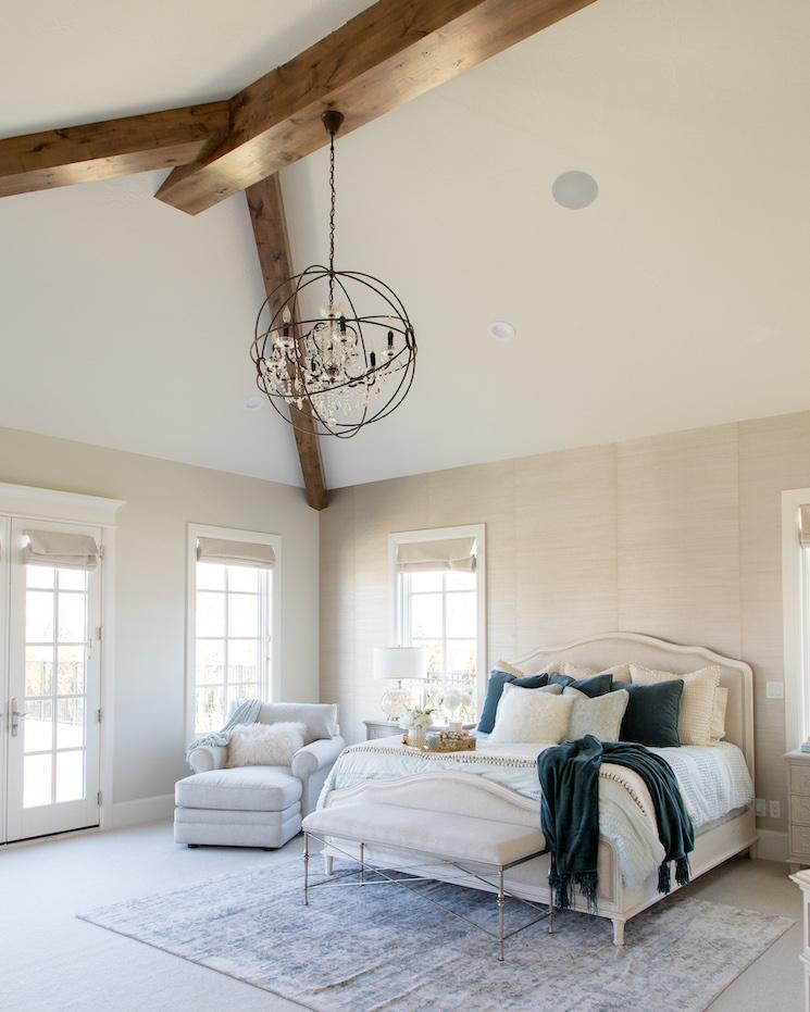 gorgeous Utah home master bedroom