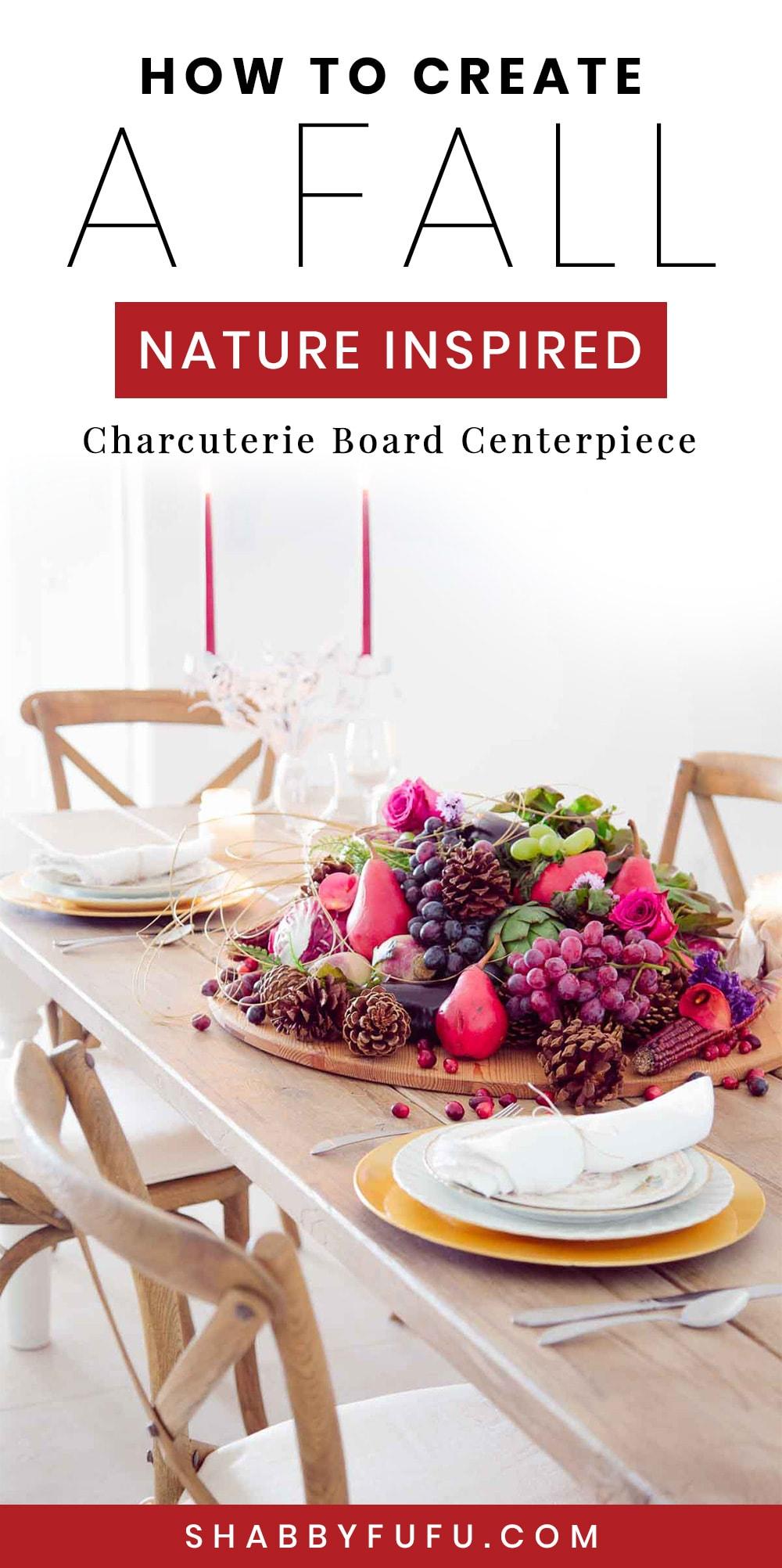 fall charcuterie board