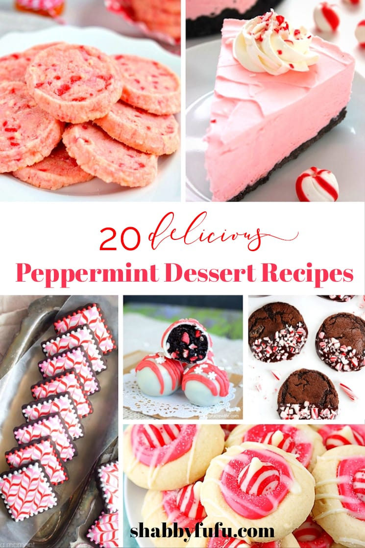 20 Delicious Peppermint Dessert Recipes shabbyfufu.com
