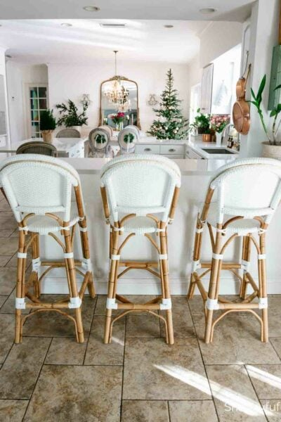 Serena & Lily Riviera White Barstools