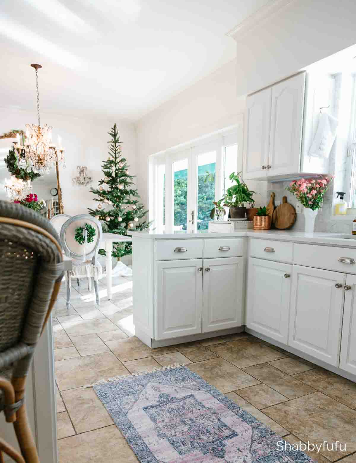 simple elegant Christmas home tour