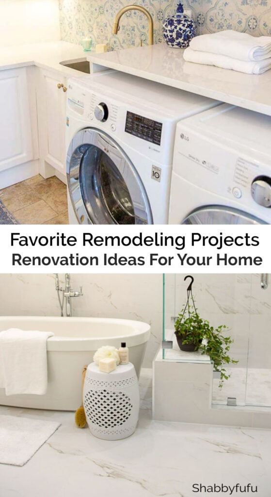 Favorite Remodeling Projects - Updating Our Home