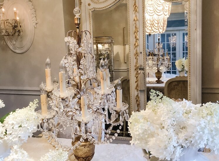 christmas french country home tour