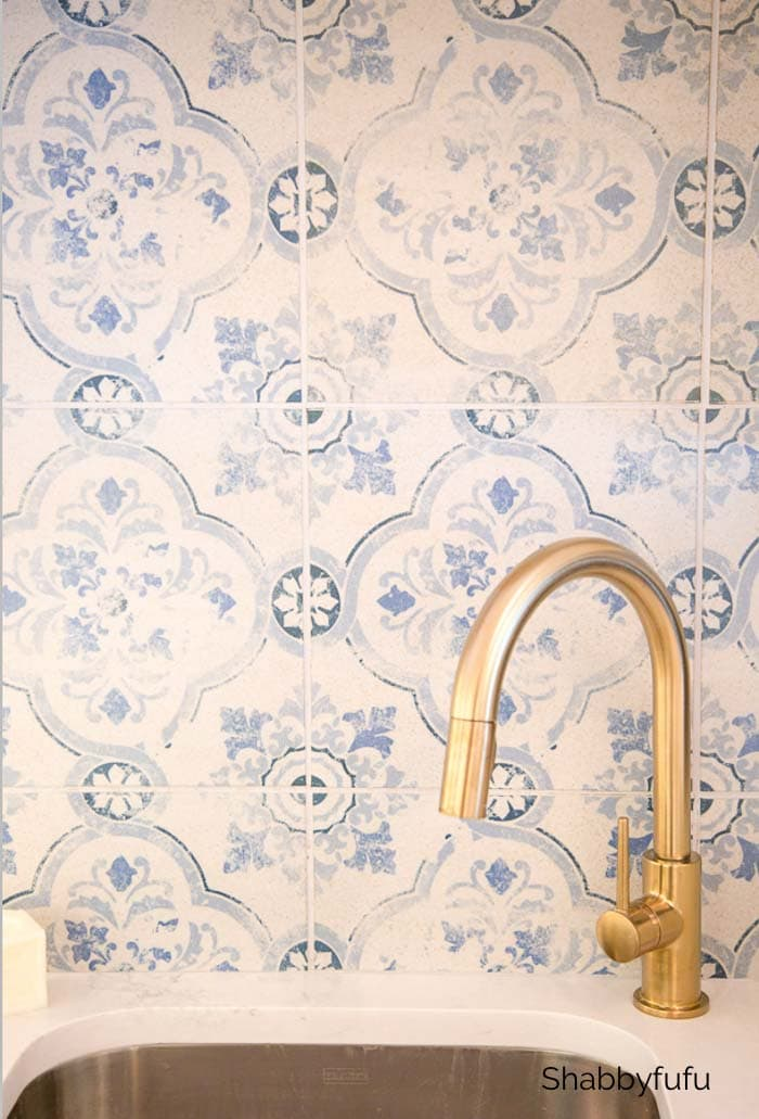 favorite remodeling projects - blue farmhouse tile