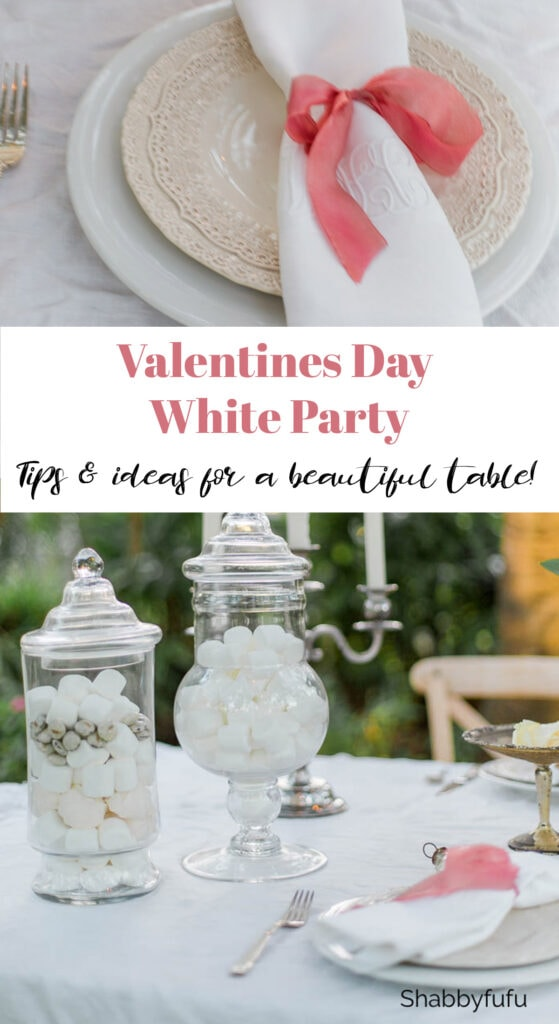 Valentines Day white party