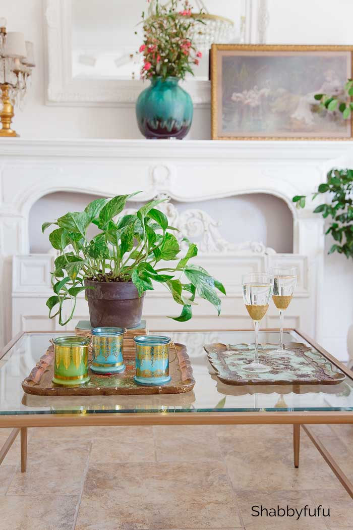 quick coffee table styling tips
