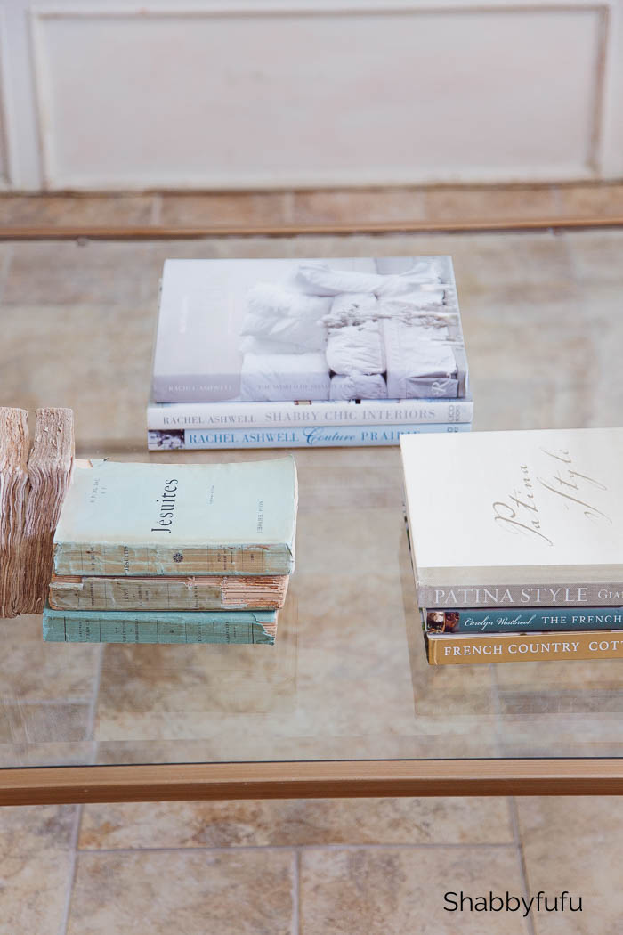 books for coffee table styling