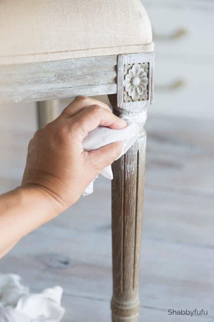 how to chalk paint furniture without chalk paint