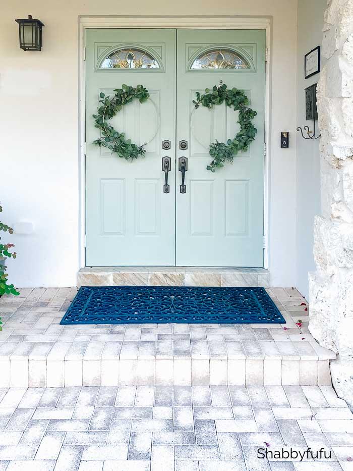 easy front door wreath