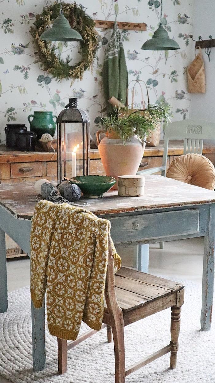 Scandinavian kitchen vintage style