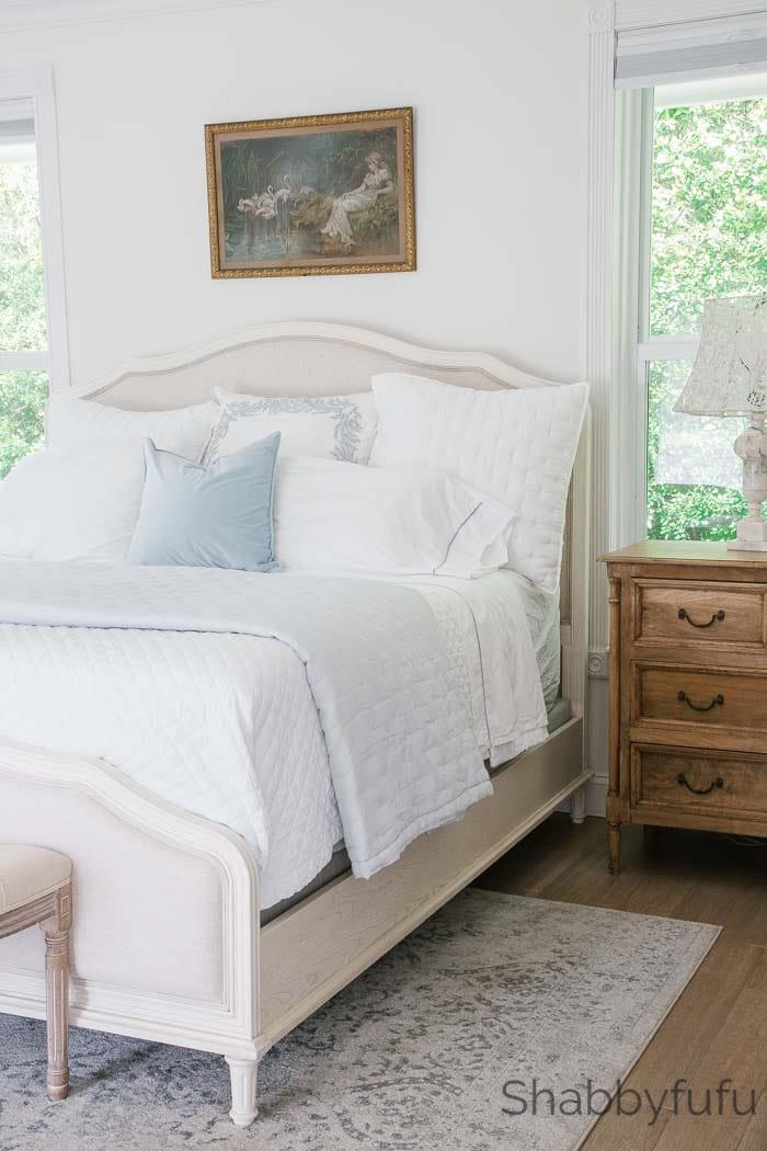 shabbyfufu master bedroom spring home decorating