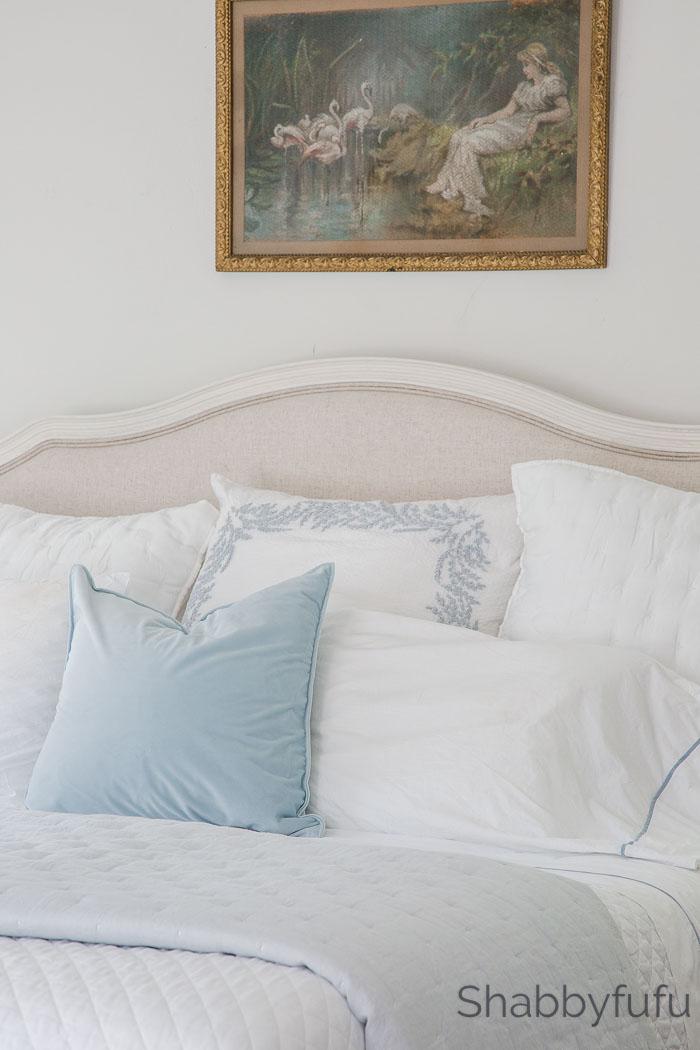 spring home decor master bedroom