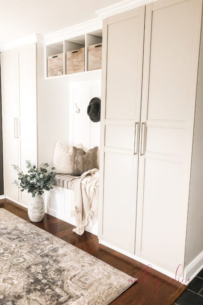 savvy renovations home tour ikea hack for storage