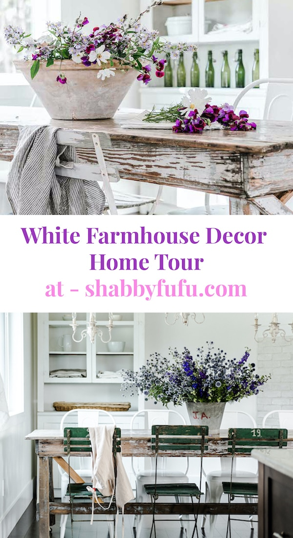 Minimalist White Farmhouse Decor Home Tour