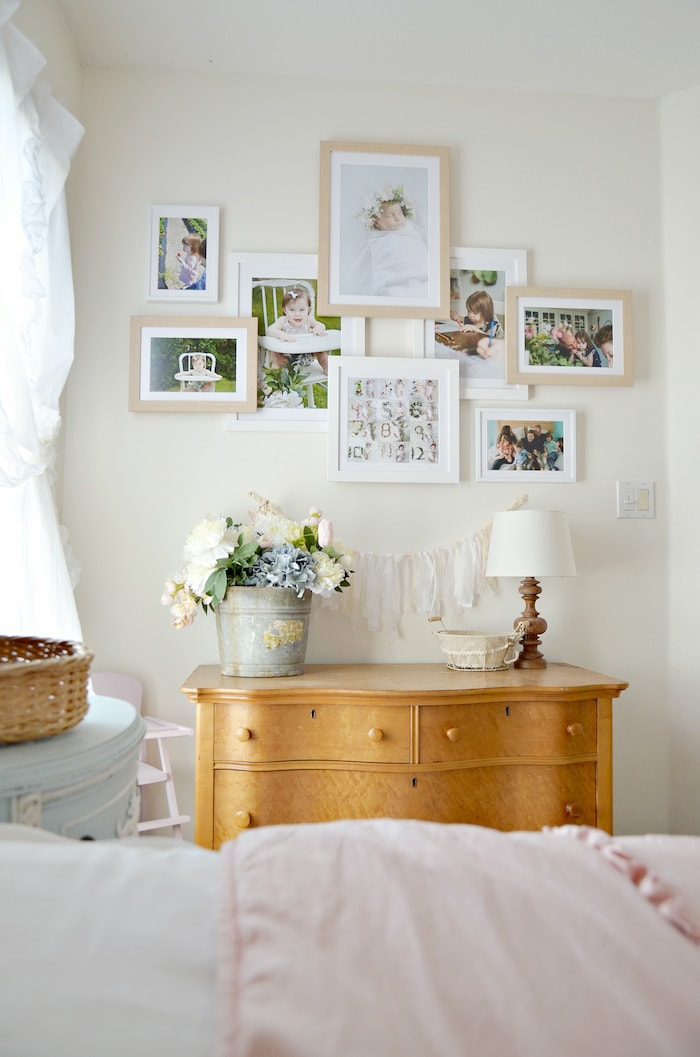 french country cottage style girls room