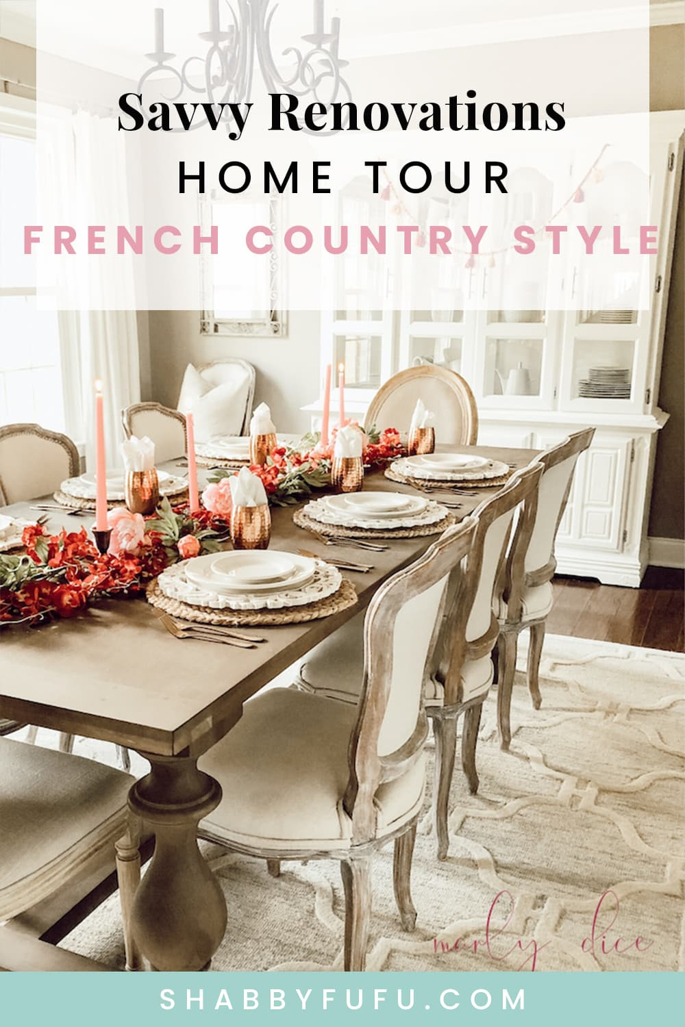 savvy renovations home tour french country style