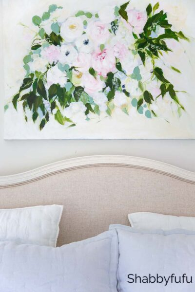 spring decorating looks master bedroom