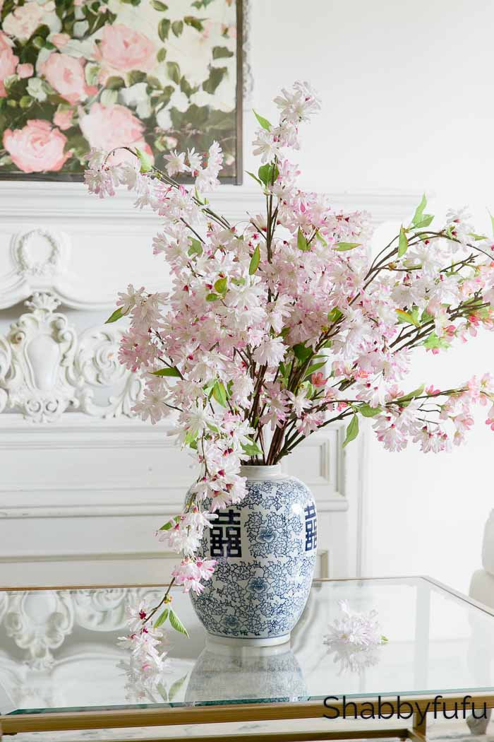 Spring Decorating Looks Cherry Blossoms