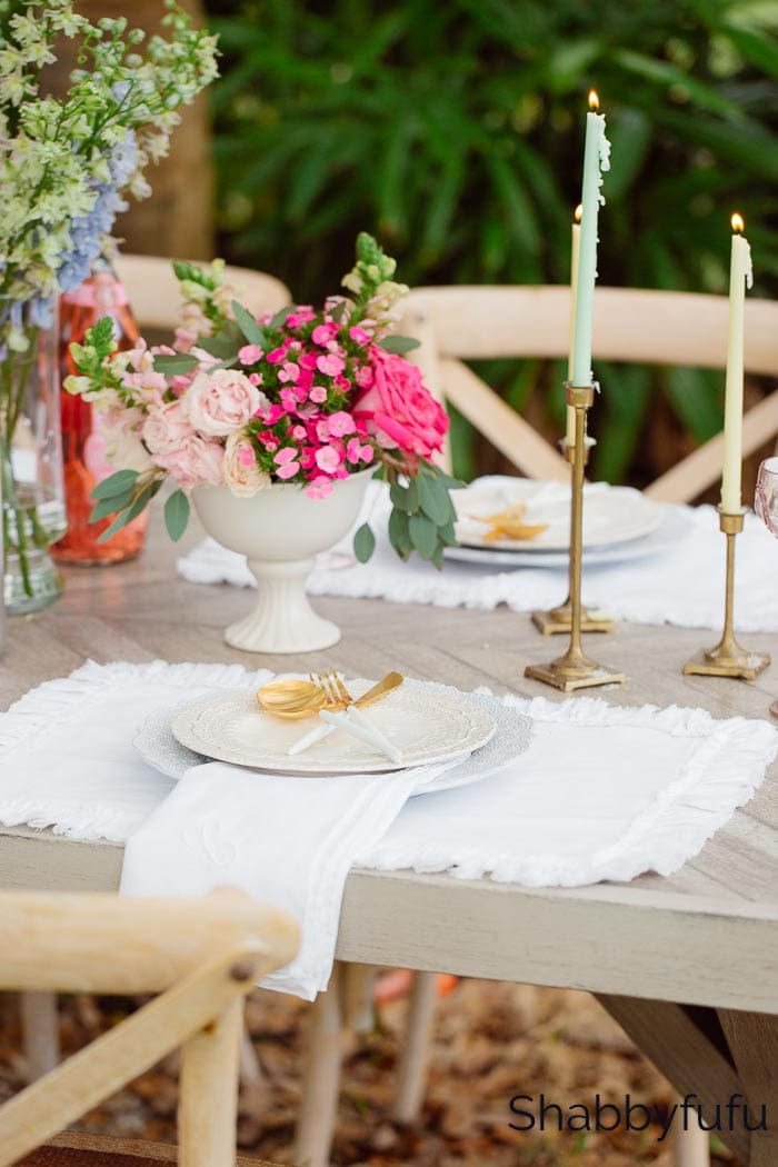 simple spring table decorations grocery store flowers