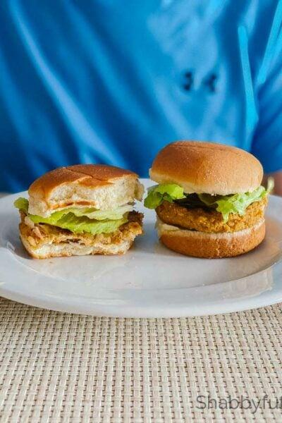 vegetarian walnut slider burgers