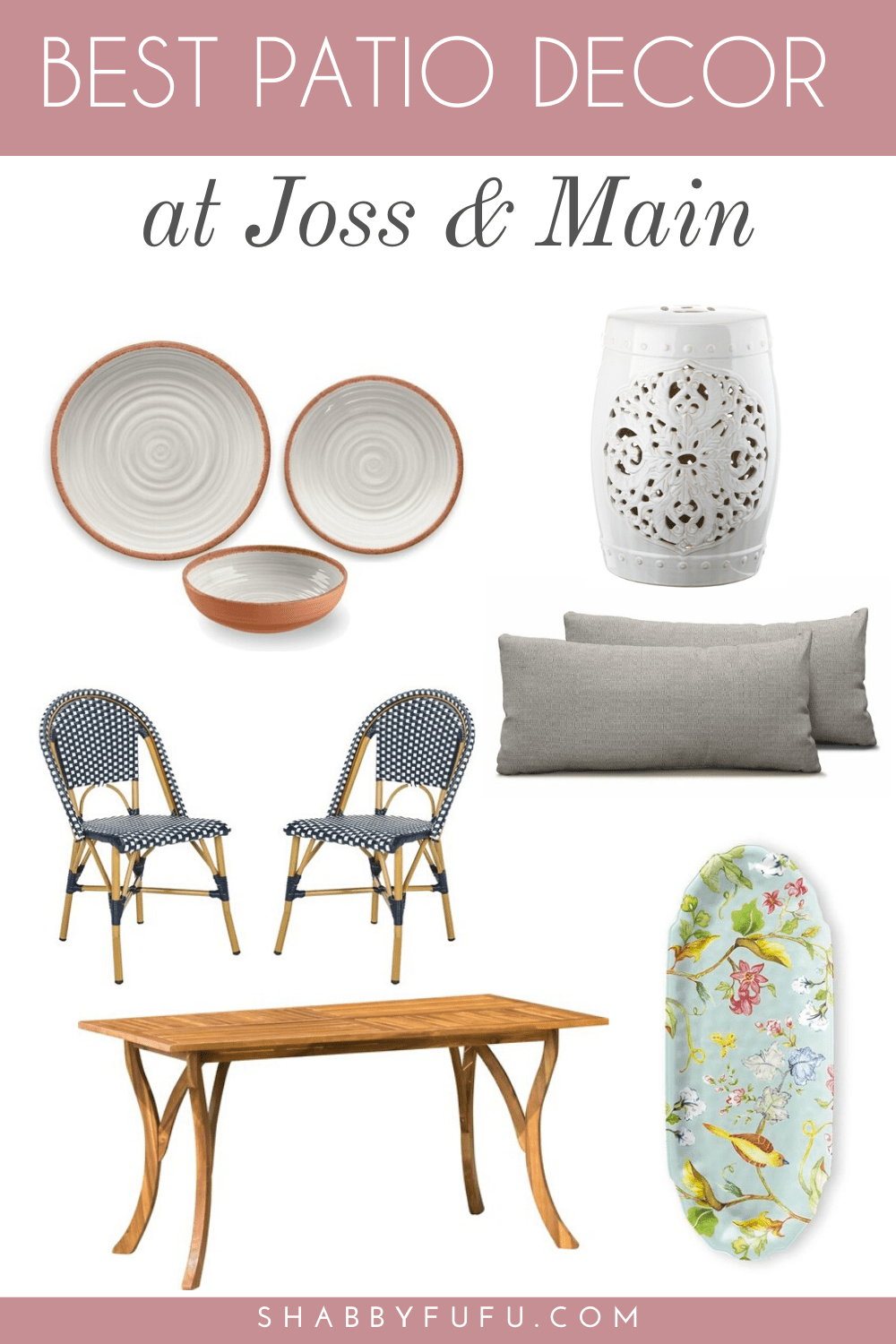 the best patio furniture and decor from Joss and Main