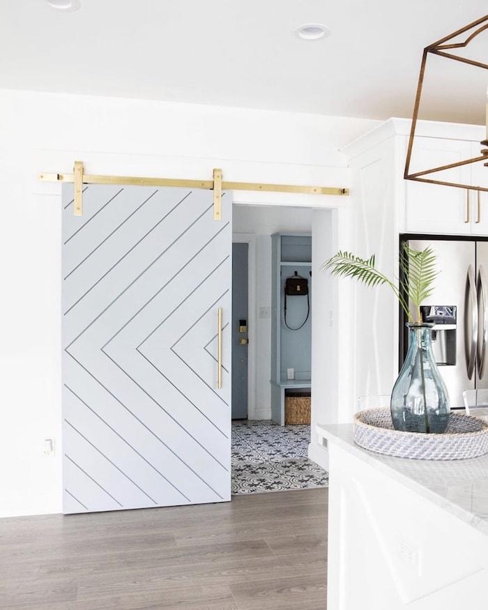 custom contemporary designer home barn door