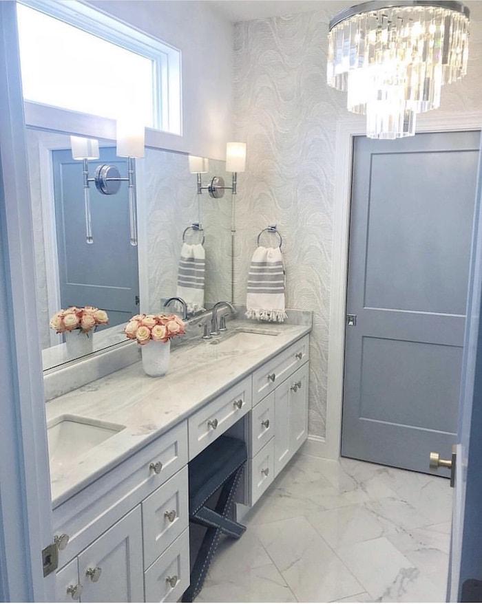 master bathroom contemporary modern farmhouse style