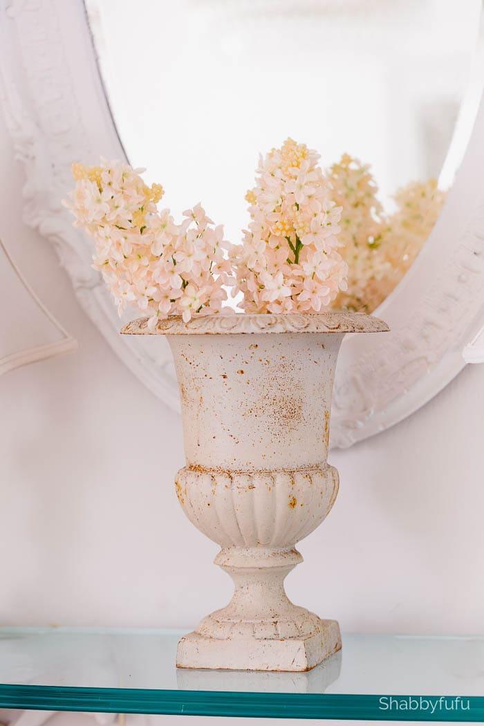 faux pale pink lilacs shabbyfufu