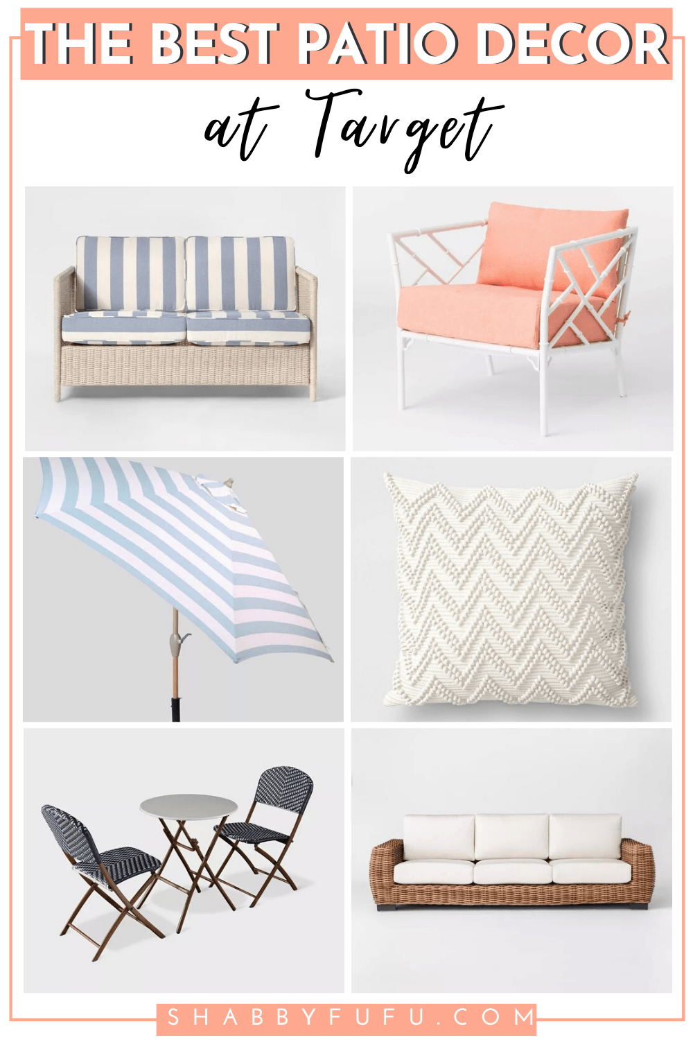 the best patio furniture and decor at Target