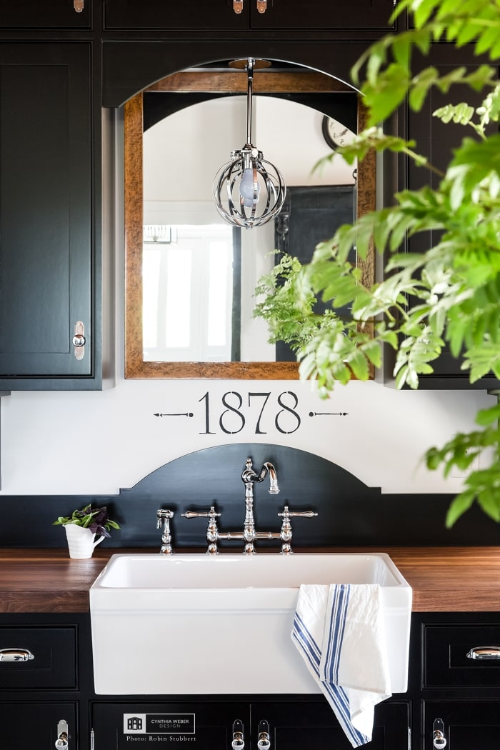 farmhouse sink design