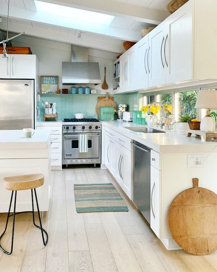 coastal California kitchen