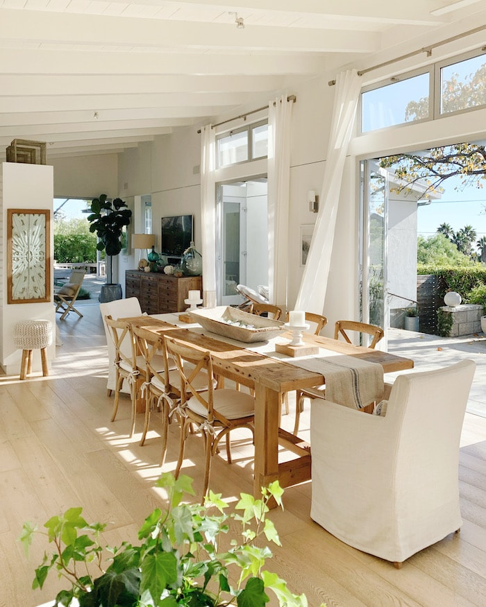California open concept home