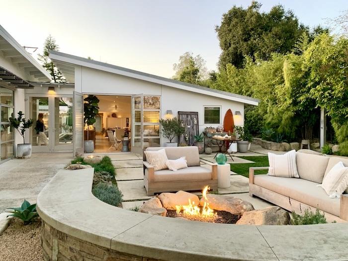 firepit California