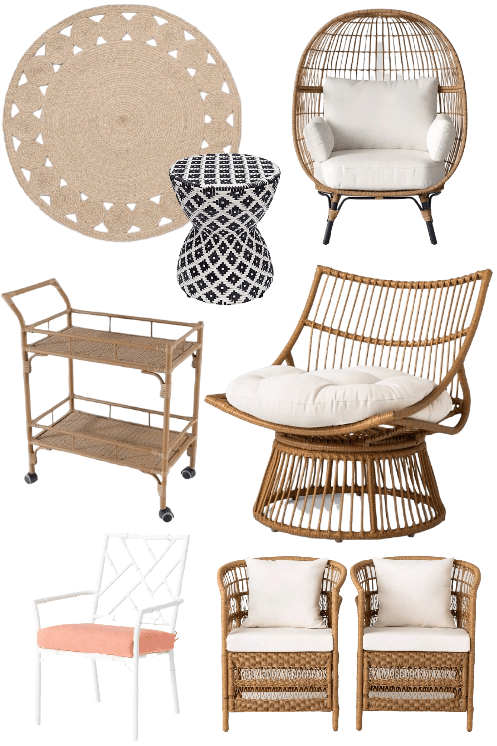 designer looks for less for the patio
