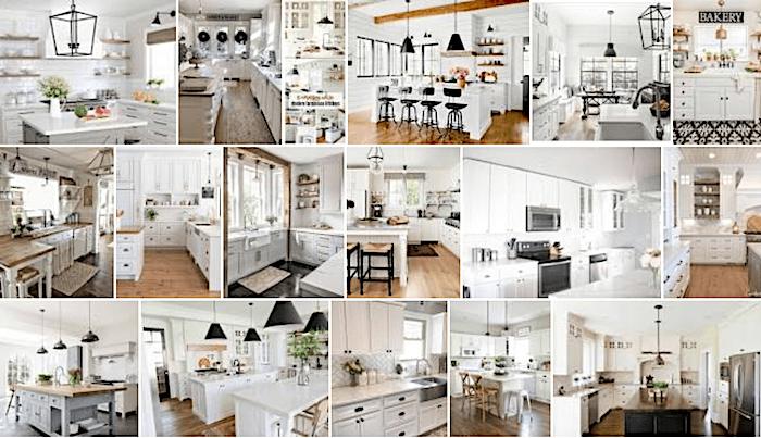 white farmhouse kitchens tips for shopping vintage online