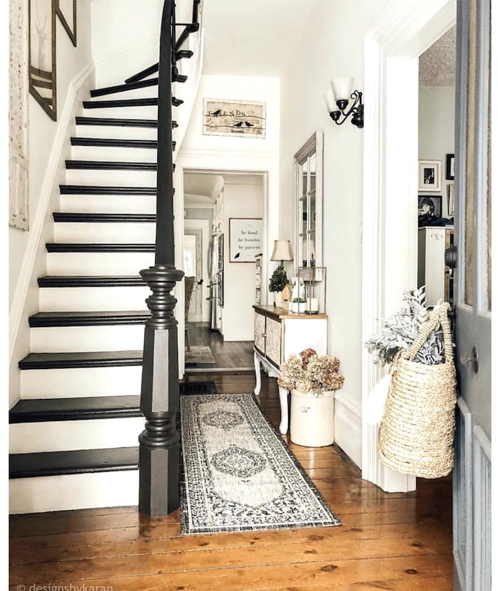 old home staircase