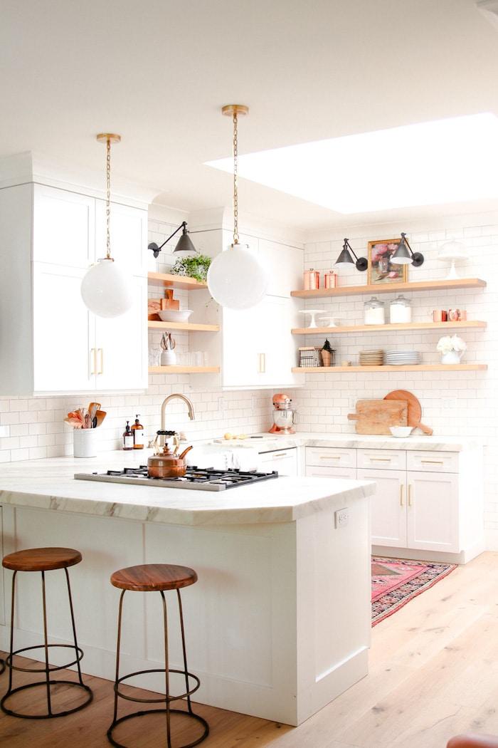 modern glam decor farmhouse kitchen