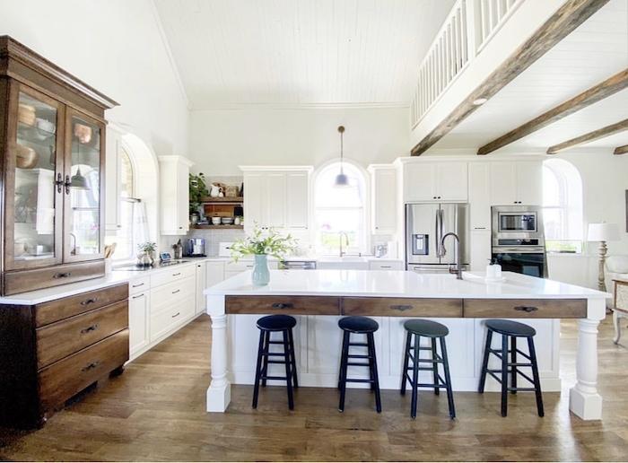 kitchen old schoolhouse renovation