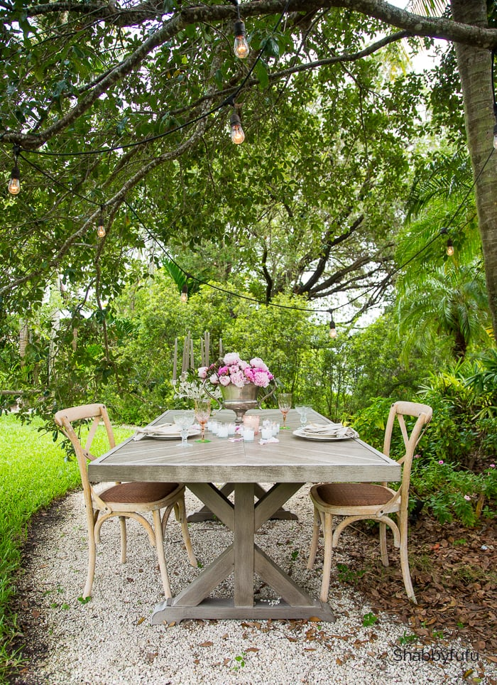 tropical garden tour outdoor entertaining