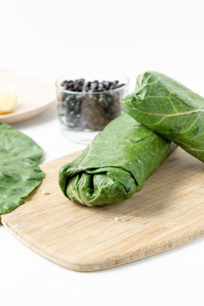 low calorie vegan wraps
