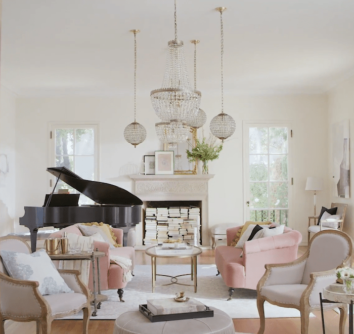 affordable modern french country design