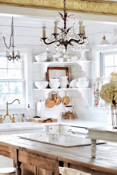 vintage french kitchen