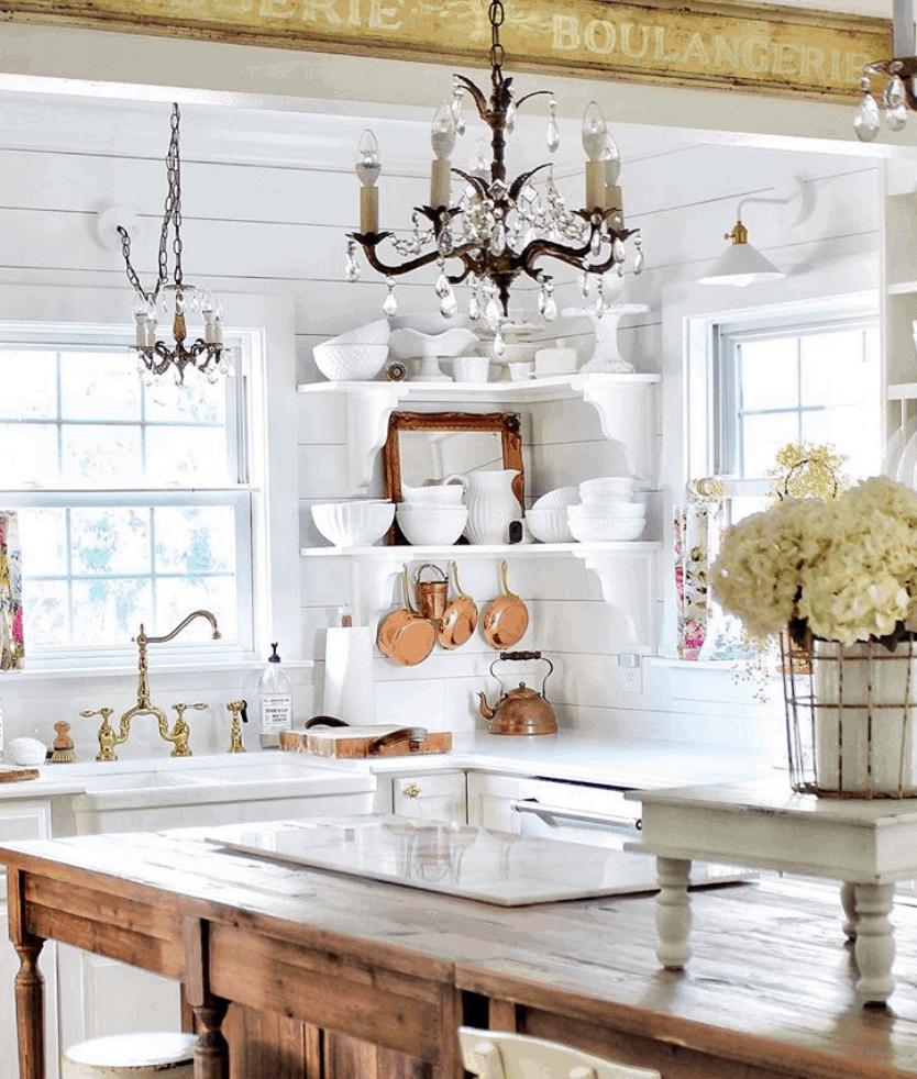 antique french kitchen