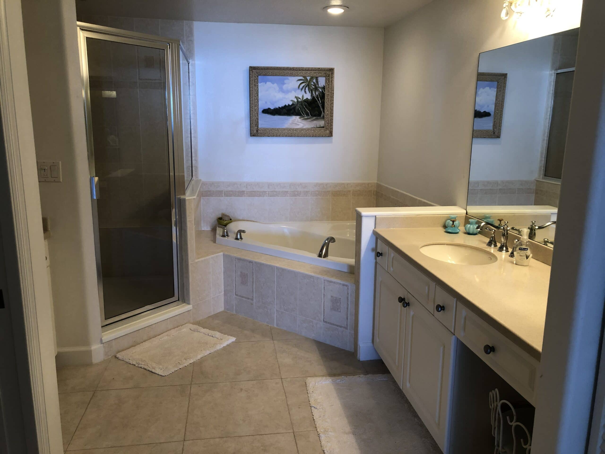 bathroom remodeling plans before master bath