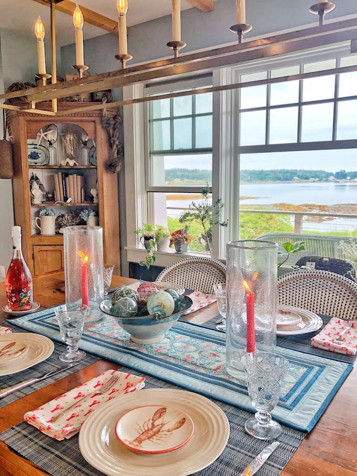 coastal home in Maine water view