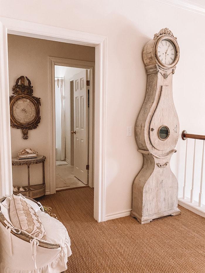 designer French chic home clock