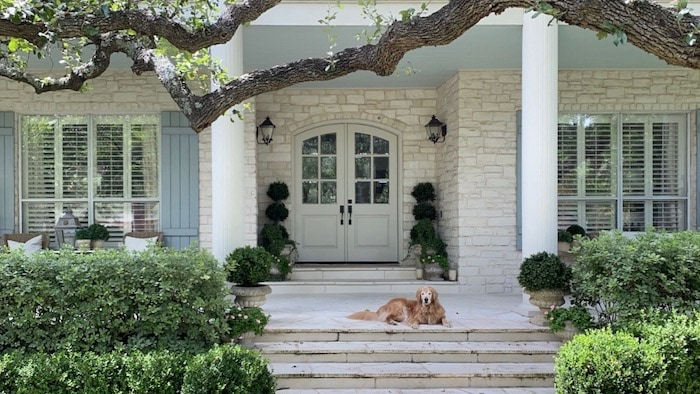 French style home in Texas