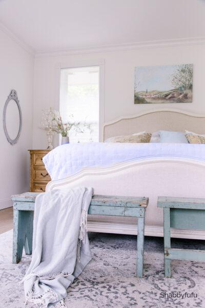 french farmhouse fall bedroom shabbyfufu